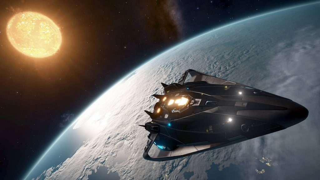 Elite Dangerous exploration
